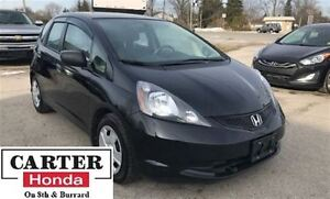 2010 Honda Fit DX + + ACCIDENT FREE + ONE OWNER!