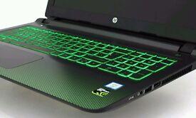 MINT COND HP SLIM GAMING LAPTOP 1TB HDD NVIDIA GTX 950M 4GB 6300HQ QUAD CORE 1080P 8GB RAM