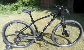 Specialized Rockhopper 29er mountain bike size large excellent condition hardly used