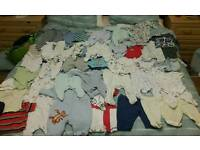 0-3 months boy clothes bundle