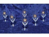 Set of x6 DAB German Beer Glasses