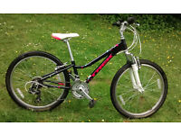 "Trek MT220 childrens 24"" wheel bicycle VGC"