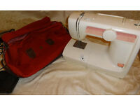 JMB CB21 Sewing Machine, Foot pedal and bag! Only £27!