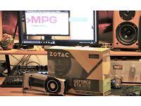 Zotac NVIDIA GeForce GTX 1070 8GB Founders Edition ( Receipt from OcUK )