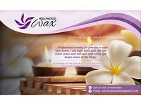 Quality Waxing in the Comfort of Your Own home