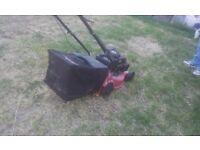 Petrol lawn mower (power devil 350)