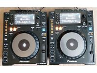 MINT pair of CDJ 900 Nexus - £1550