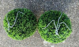 Boxwood Topiary Ball 38cm 2 pieces