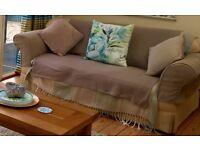 2 seater Sofa Bed Laura Ashley 92 Deep x 180cm Wide x 82cm High
