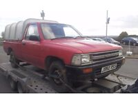 toyota hilux pickups wanted any year and condition (diesel/4wd/2wd)