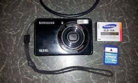 Samsung PL50 Digital Camera 10.2 MP + battery + SD card + USB cable