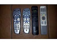 Sky remote, Virgin Media remote, Humux RT-531 remote
