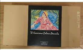 72 Karisma Coloured Pencils in Original Box,