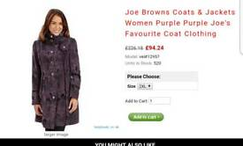 Joe brown coat
