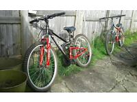Two kid bikes for sale