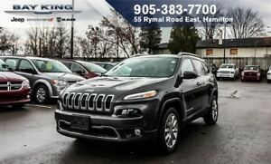 2017 Jeep Cherokee LIMITED 4X2, BLUETOOTH, REMOTE START, BACKUP