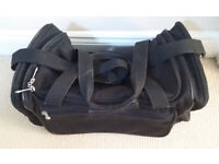 Tripp sports/travel bag - black, very good condition, with lock and key