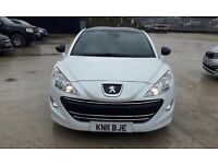 2011 peugeot rcz 200 bhp looks and drives like new, 31000 miles mot s October 2017