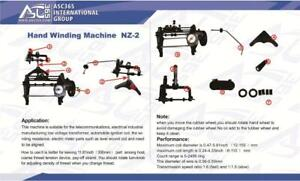 NEW Manual Automatic Hand Coil Winder Winding Machine NZ-2 131089 Item number: 131089