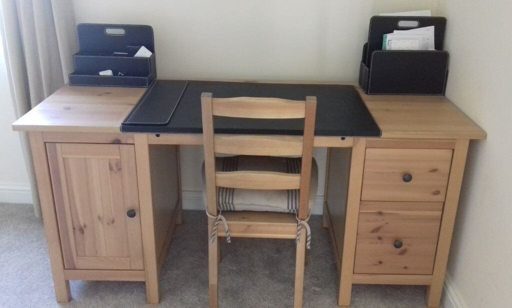 New Ikea Hemnes Light Brown Desk Is For Sale In Bradford West Yorkshire Gumtree