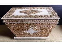 Thai Wooden Storage Treasure Chest - Harrods