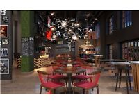 APRIL 18TH START FOR MAY OPENING: WAITERS RED ROOSTER SHOREDITCH & TAQUERIA BY MARCUS SAMUELSSON