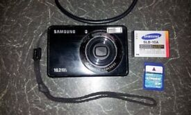 Samsung PL50 Digital Camera 10.2 MP + battery + SD card + USB cable