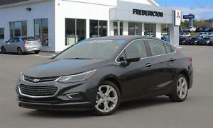 2017 Chevrolet Cruze PREMIER! HEATED LEATHER! BACKUP CAM!