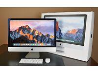 "Apple Retina iMac Pro 27"" 5k 4.0ghz i7 SKYLAKE 40gb Ram 2TB HD SSD"