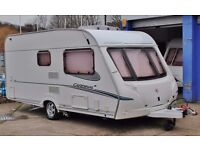 2006 ABBEY CARDINAL 315 AVENTURA, 2 BERTH END BATHROOM & MOTOR MOVER, CRiS CHECK (HPI)!