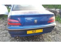 PEUGEOT 406 HDI BOOT TAILGATE BREAKING FOR PARTS