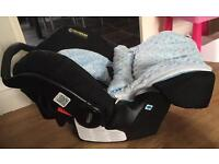 Graco baby car seat (for birth)