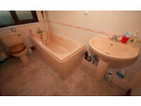 Ideal Standard apricot Bathroom Suite, in Hayle - £50