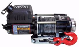 Warrior Ninja 3500 Electric Winch - Synthetic Rope