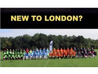NEW TO LONDON? PLAYERS WANTED FOR FOOTBALL TEAM. FIND A SOCCER TEAM IN LONDON. PLAY IN LONDON SQ4