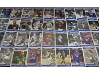 LEICESTER CITY FOOTBALL CLUB 40 CARDS EXC+++ LEICESTER MERCURY-FULL SET