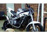 Yamaha fzr 1000 Street fighter project 90% complete