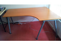 Ikea Galant Desk - Height adjustable