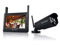 """Amcrest Wireless HD 720P 4CH Video Surveillance System with 7"""" Touch-Screen LCD"""