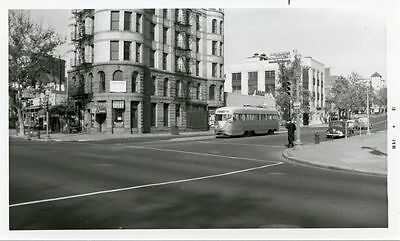 5F887 RP 1950s/81 CAPITAL TRANSIT WASHINGTON DC CAR 1243 END OF LINE PENNA & 6TH
