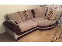 Nearly new Ellis Cuddle scatter back sofa