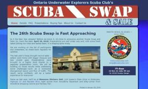SCUBA Swap 2018!  OUE Proudly presents the 26th Annual Event on April 28 -- Get your dive gear on .. or sold!