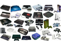 OLD CONSOLES UP YOUR LOFT , JUST MESSAGE ME WHAT YOU HAVE I MIGHT BUY.