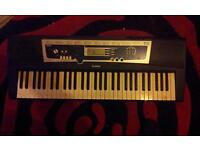 yamaha digital keyboard YPT-210 and stand good working order and in good condition