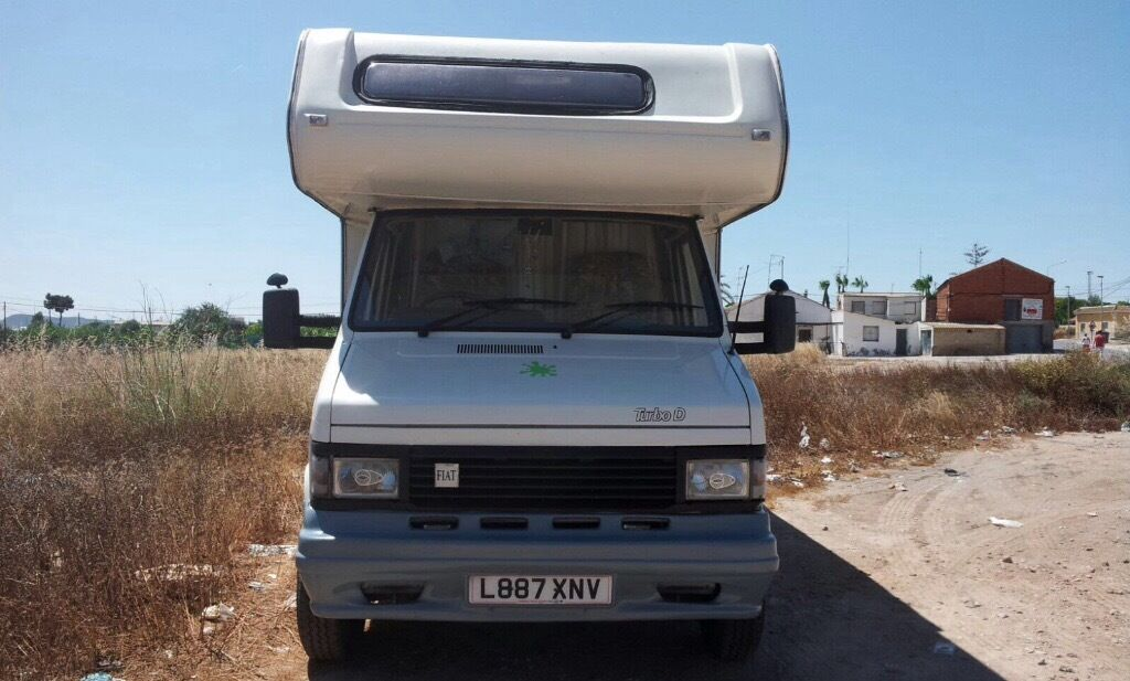 Fiat ducato 5 berth motorhome