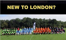 NEW TO LONDON? PLAYERS WANTED, FIND FOOTBALL, PLAY FOOTBALL, JOIN FOOTBALL TEAM, PICK UP SOCCER