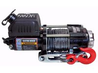 Ninja 3500 Electric Winch - Synthetic Rope