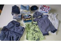 Baby boy clothes & shoes in excellent condition
