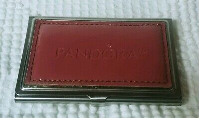 Pandora Business Card Holder Case Pink