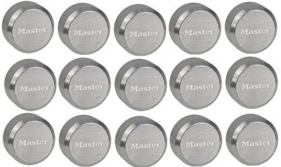 Master Lock 6271ka Hidden Shackle Lot Of 15 Keyed Alike Reinforced Puck Locks